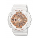 Casio Baby-G white Damenuhr