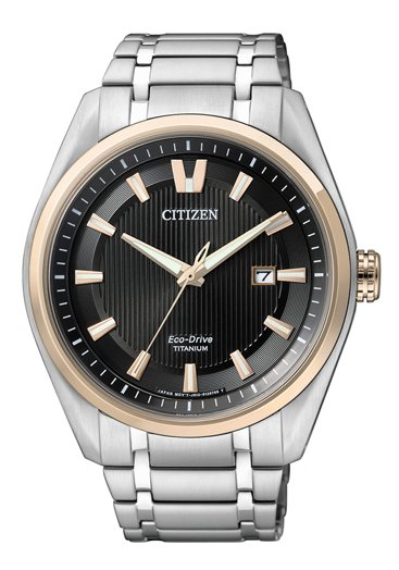 Citizen Super Titanium Herrenuhr (AW1244-56E)
