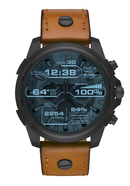 diesel diesel on smartwatch touchscreen herrenuhr nur 249 00. Black Bedroom Furniture Sets. Home Design Ideas