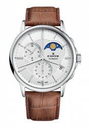 Edox Les Bemonts Herrenchronograph Mondphase (01651.3.AIN)