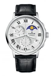 Edox Les Bemonts Herrenchronograph Mondphase (01651.3.AR)