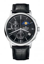 Edox Les Bemonts Herrenchronograph Mondphase (01651.3.NIN)
