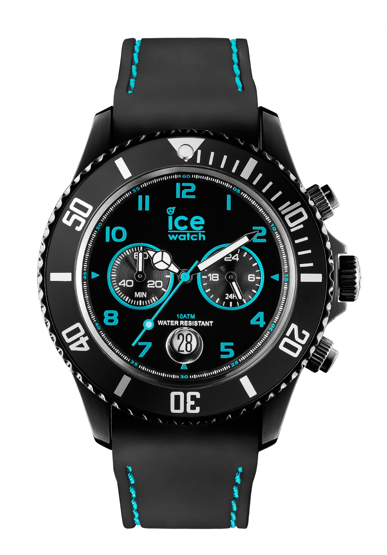 ice watch ice chrono drift big turquoise uhr nur 99 00. Black Bedroom Furniture Sets. Home Design Ideas