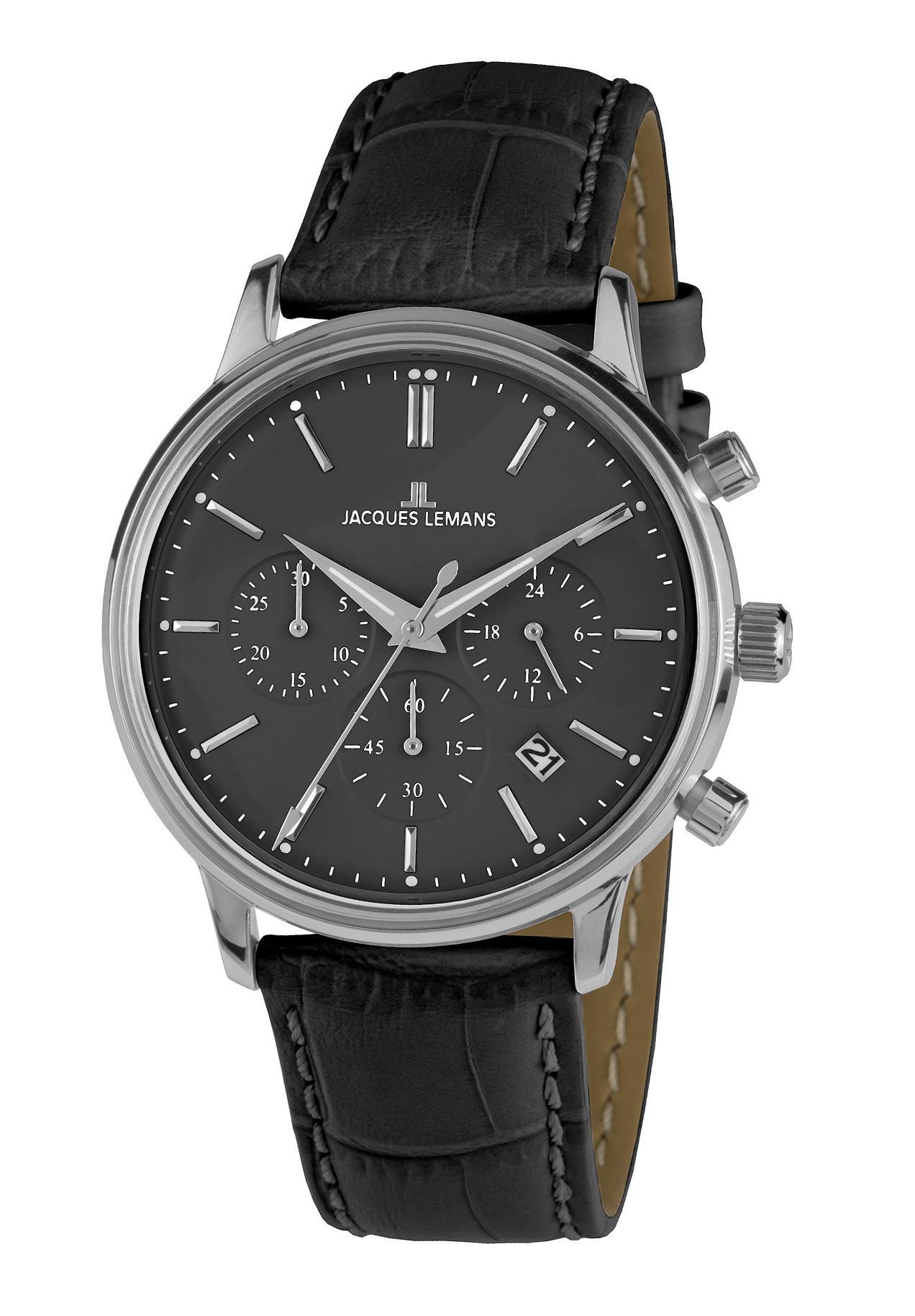 Jacques Lemans Herrenchronograph Retro Classic N-209P nur