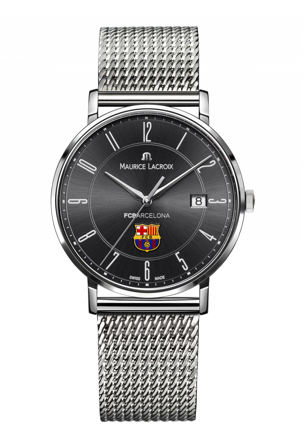Maurice Lacroix Eliros Datum Herrenuhr FC Barcelona nur ...