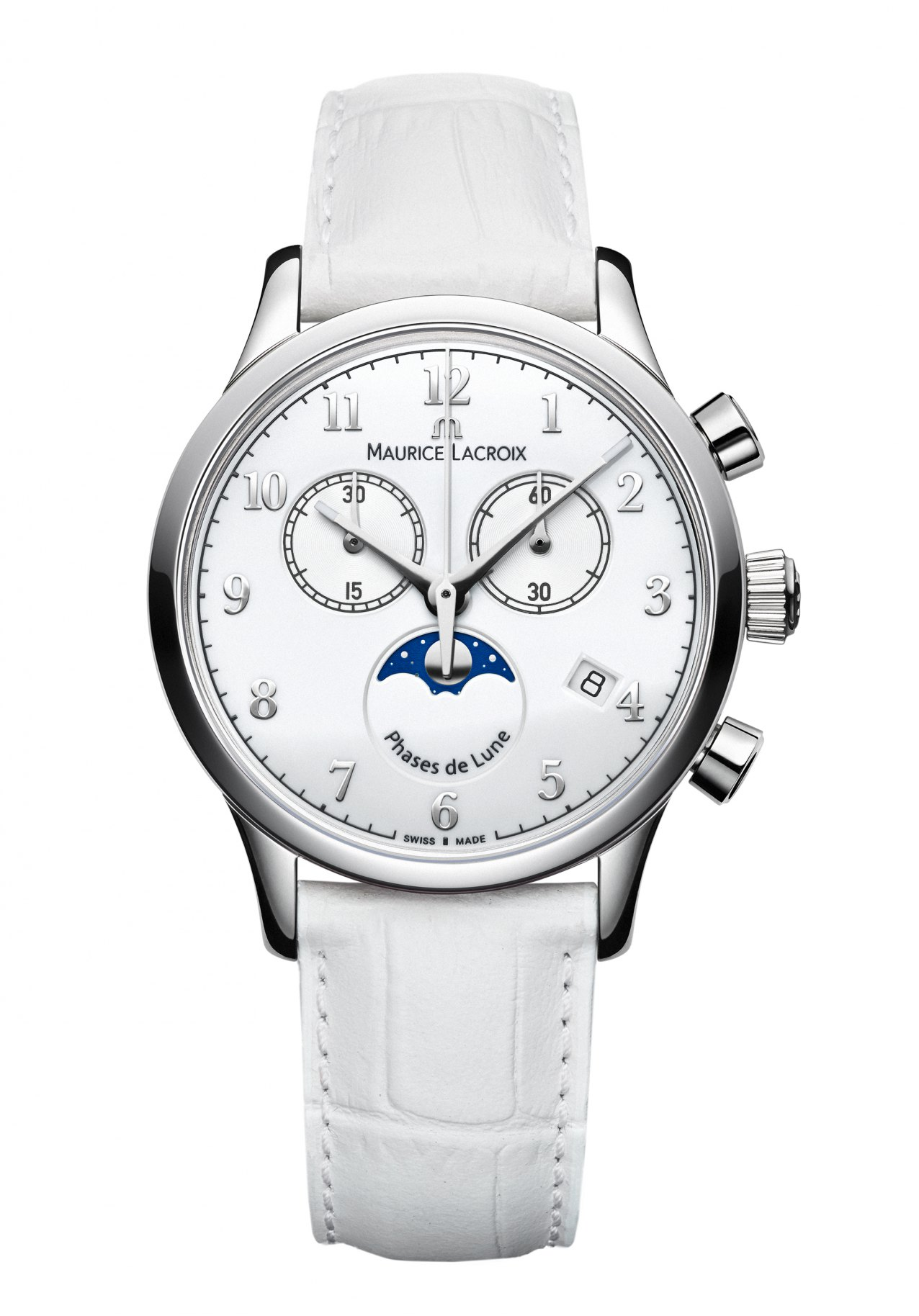Damenuhr Les Chronograph Maurice Nur 00 Lacroix Classiques Mondphase 675 IYEW9DH2