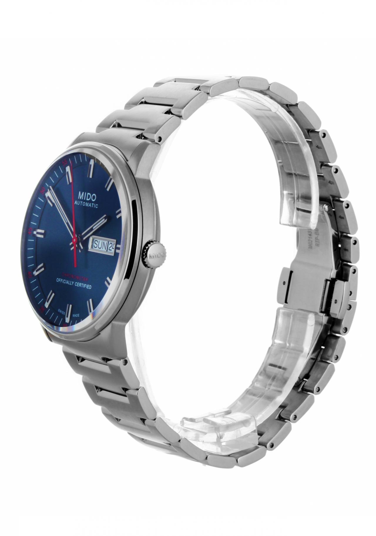 mido commander ii chronometer men s watch automatic nur 1 120 00