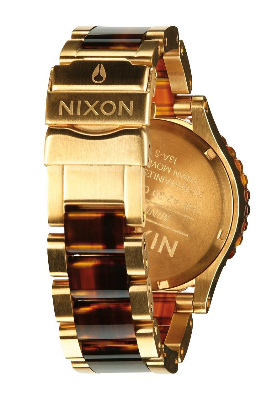 nixon the 42 20 chrono gold molasses a037424 nur 379 00. Black Bedroom Furniture Sets. Home Design Ideas