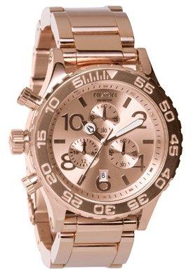 Nixon The 42-20 Chrono All Rose Gold Damenchronograph