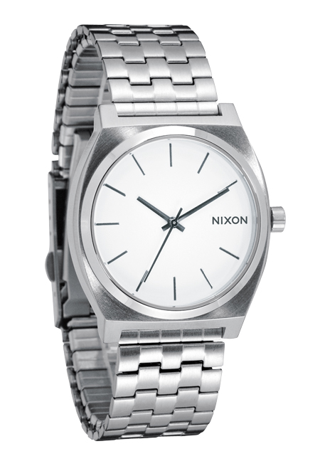 Nixon The Time Teller White Herrenuhr