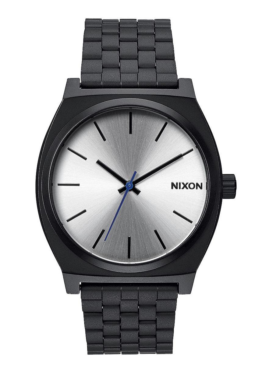 Nixon The Time Teller Black / Silver