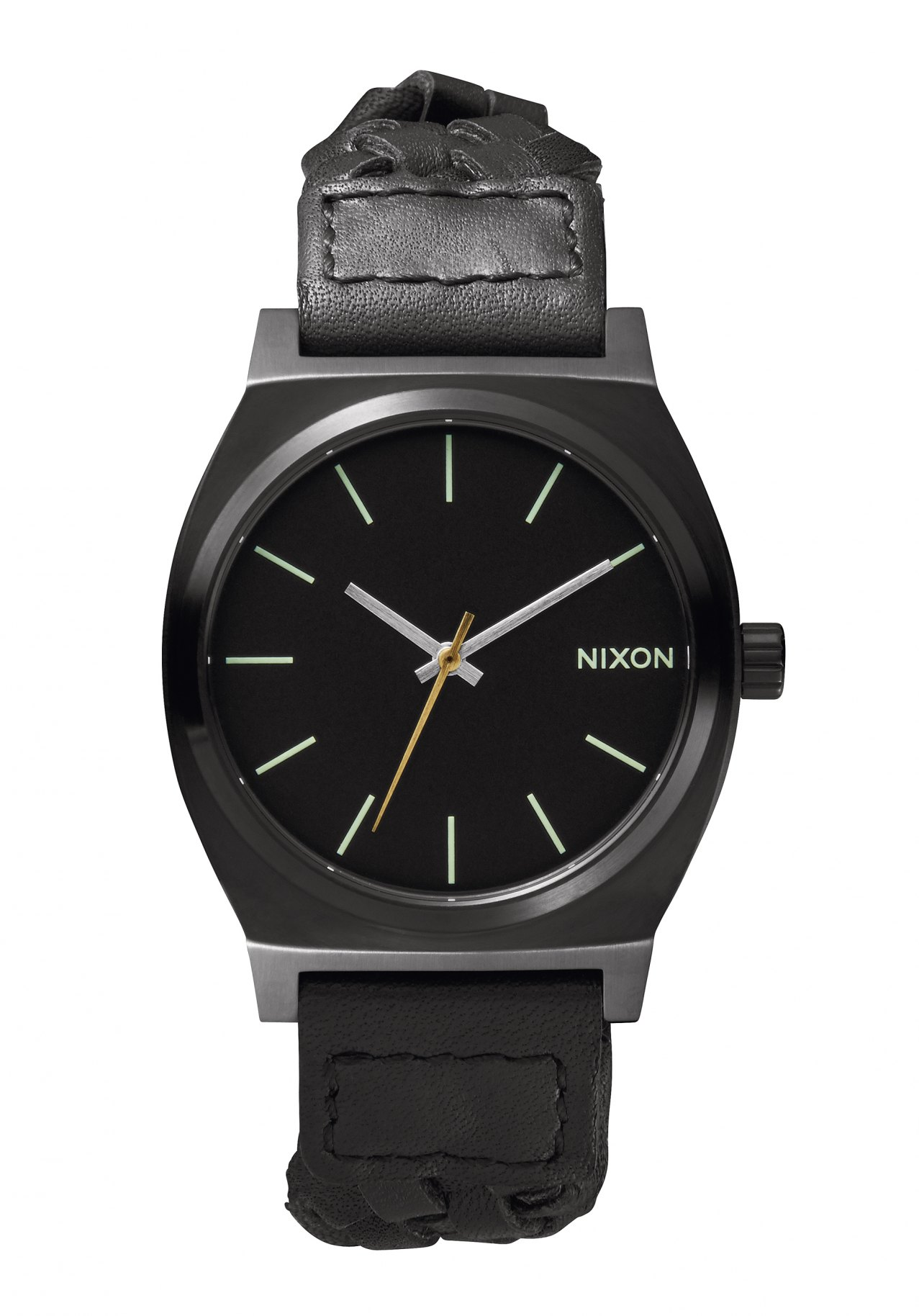Nixon The Time Teller All Black Woven