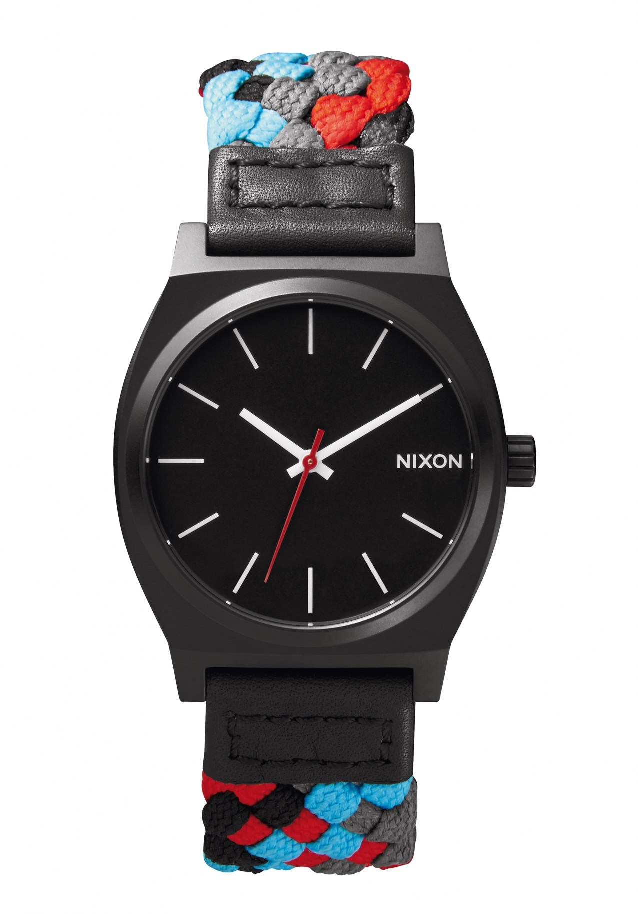 Nixon The Time Teller Black / Red Woven