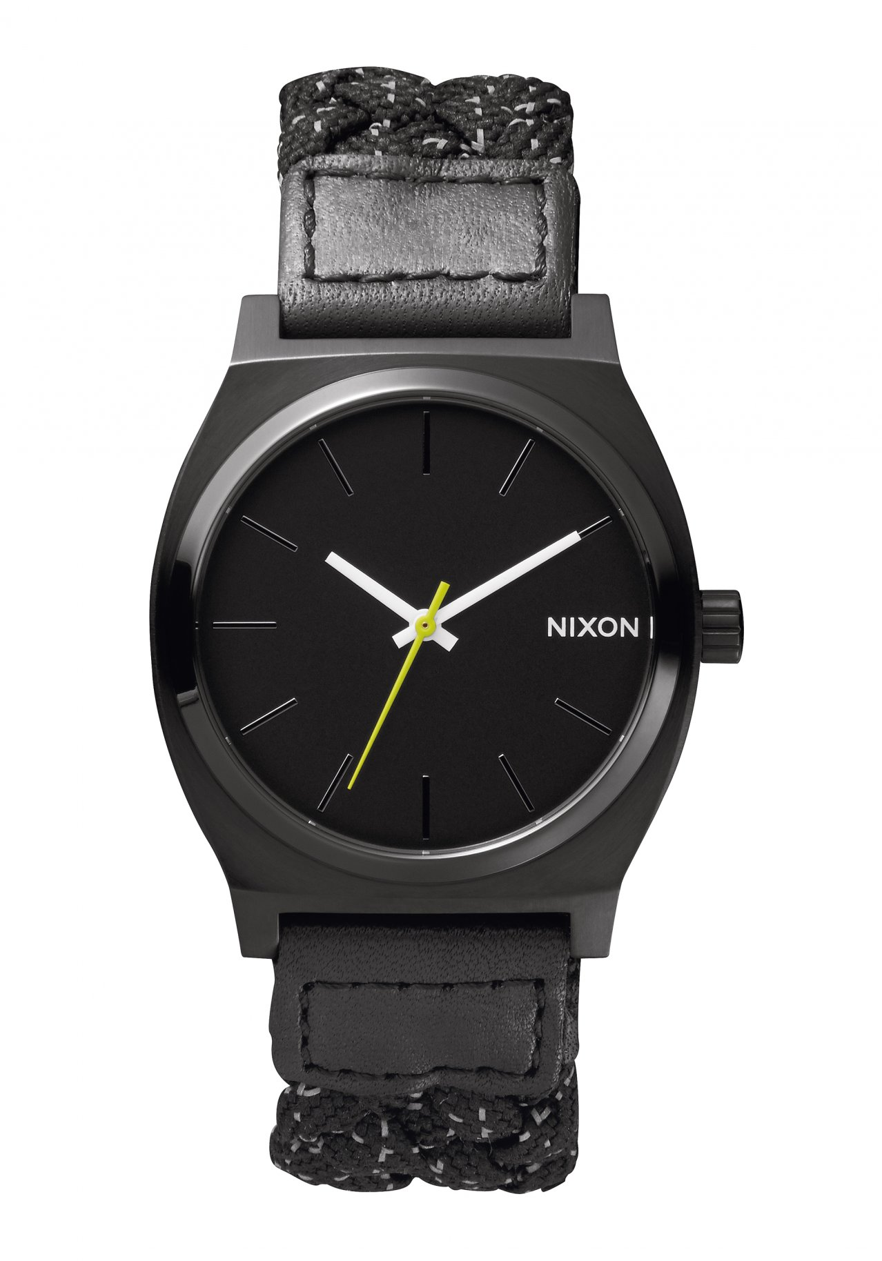 Nixon The Time Teller Black / Reflective Woven
