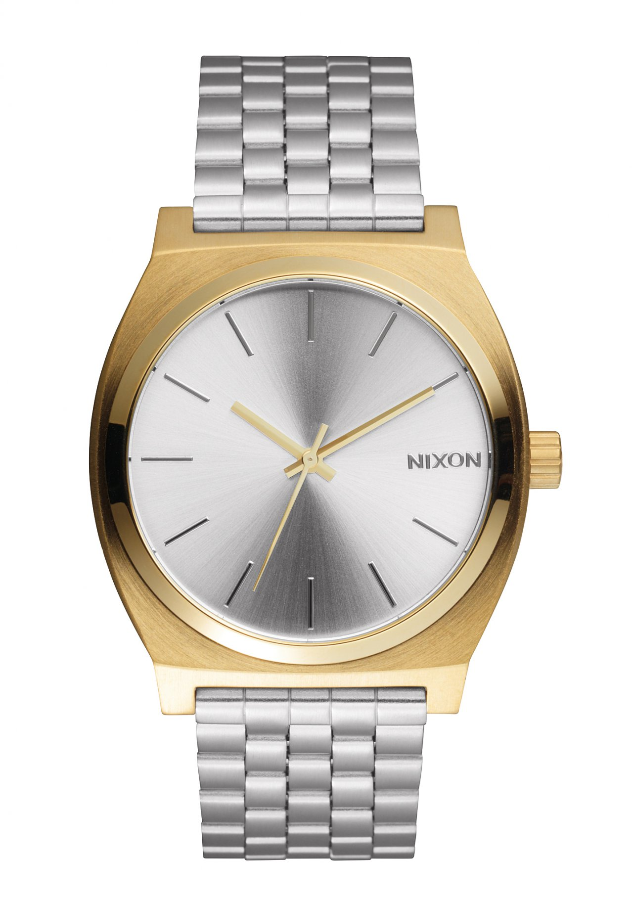 Nixon The Time Teller Gold Silver Silver