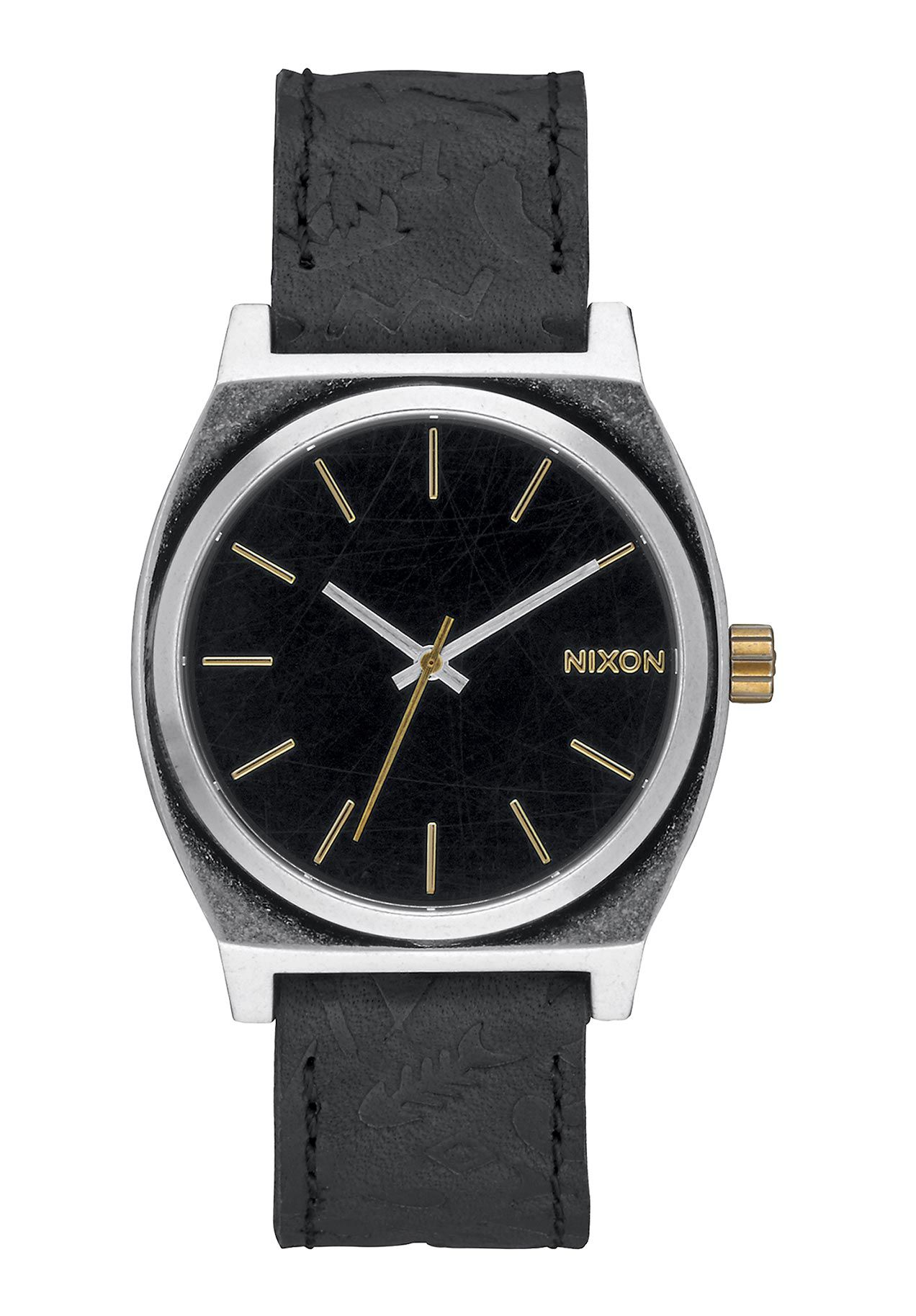 Nixon The Time Teller Black Brass