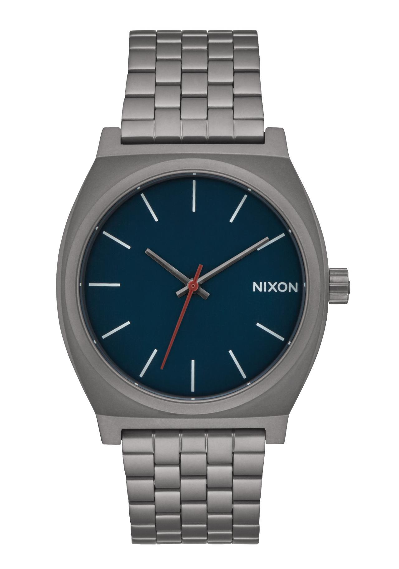 Nixon The Time Teller All Gunmetal / Dark Blue