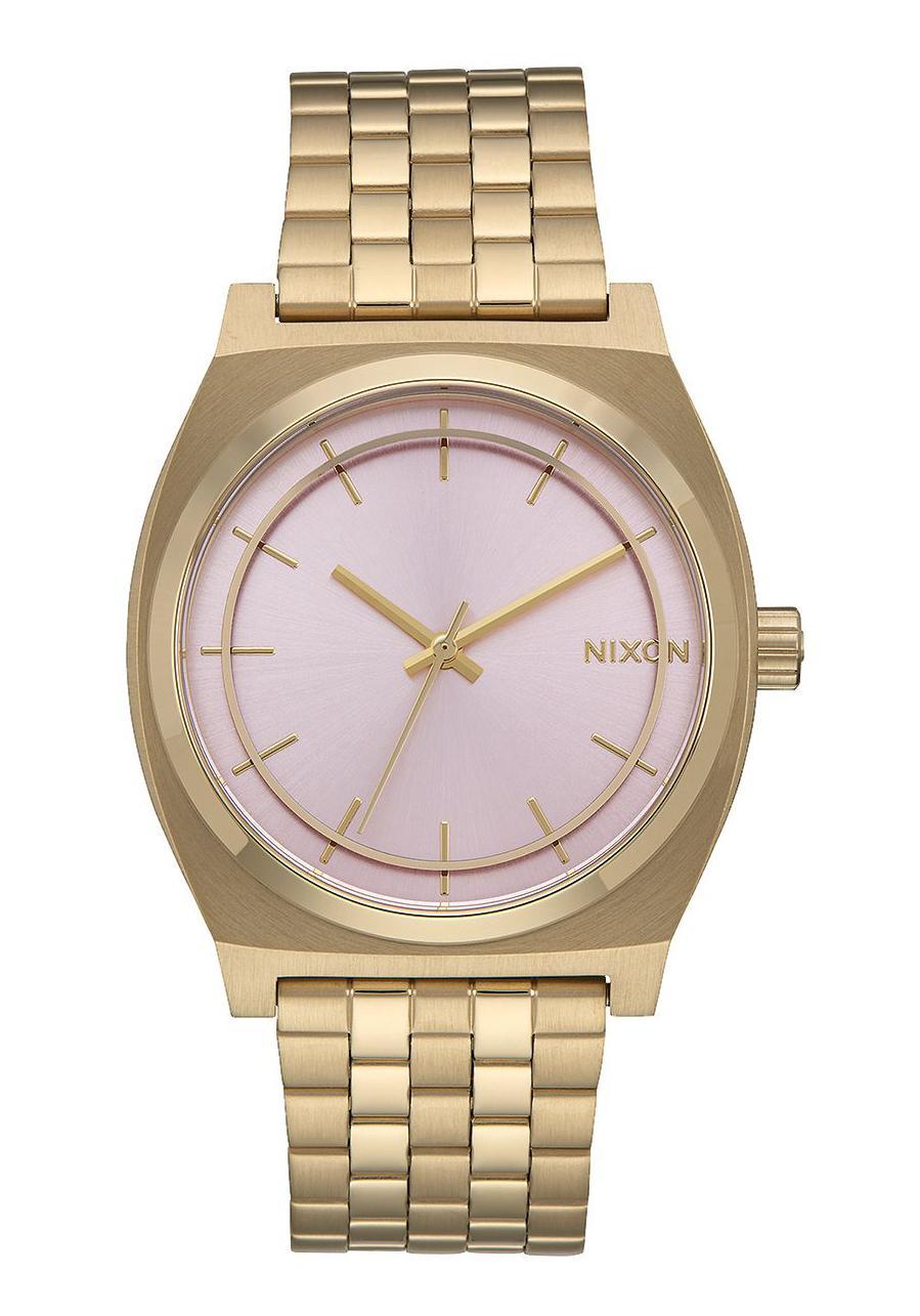 Nixon The Time Teller Light Gold / Pink