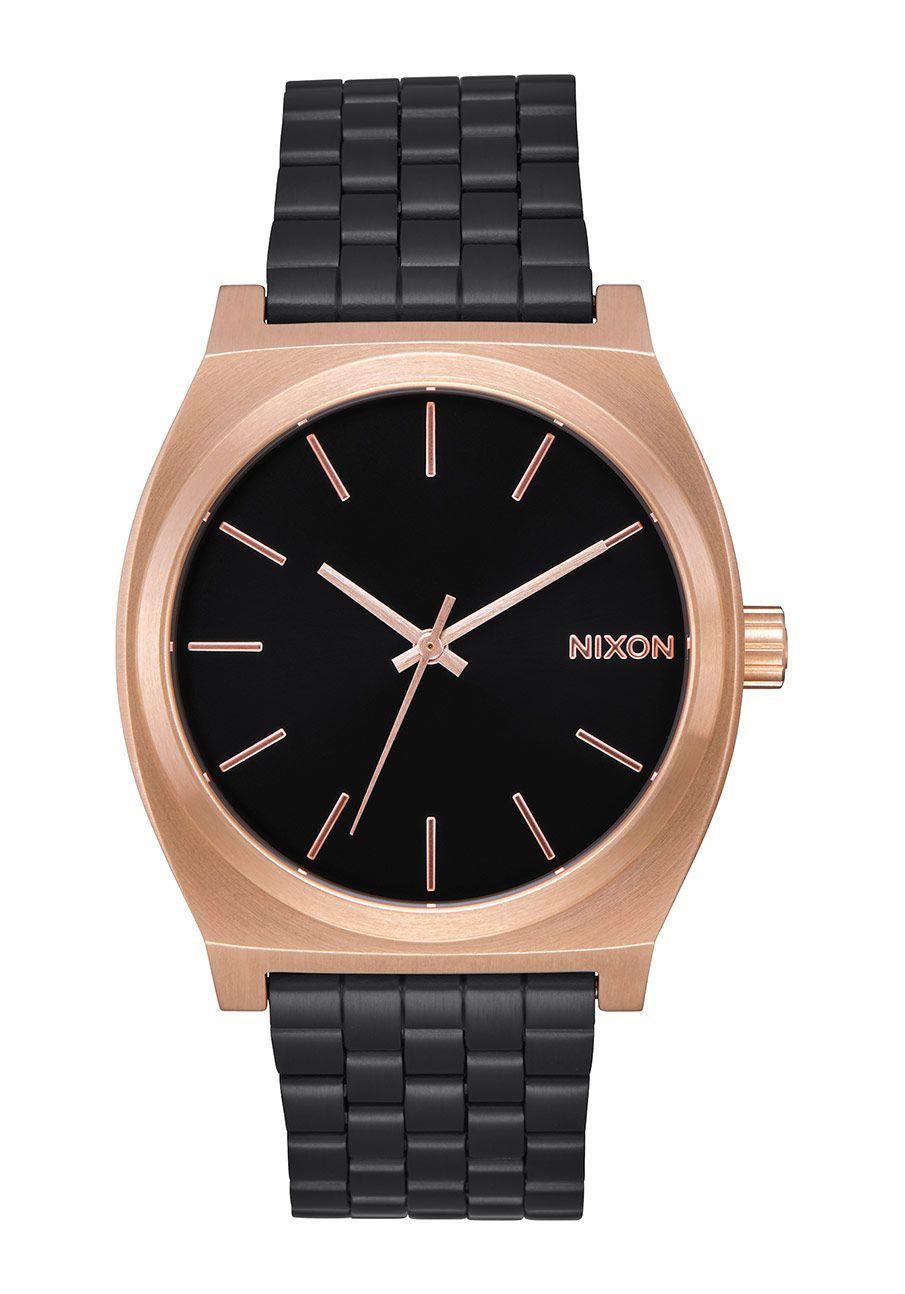 Nixon The Time Teller Black / Rose / Black
