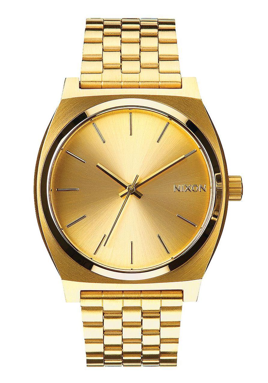 nixon the time teller all gold gold herrenuhr a045511 nur. Black Bedroom Furniture Sets. Home Design Ideas