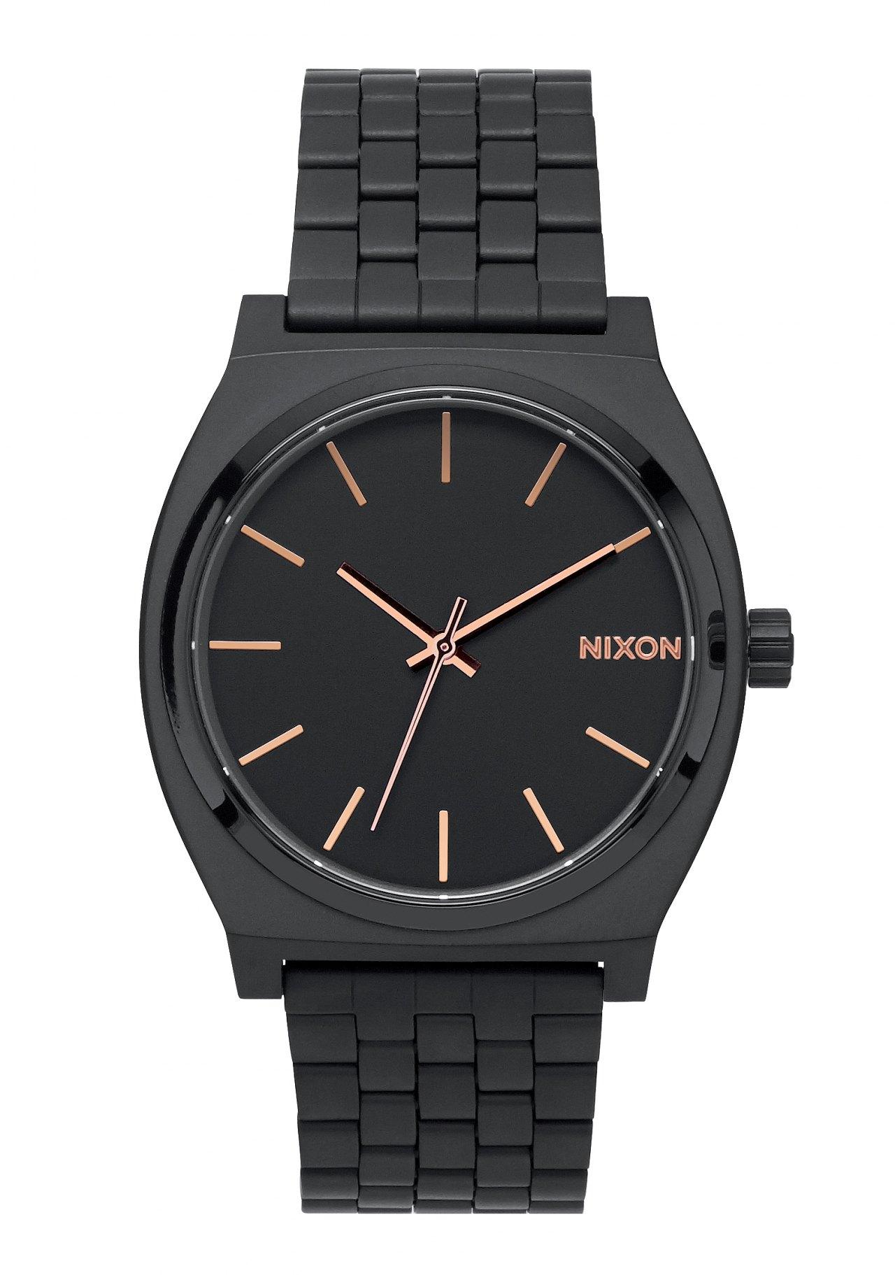 Nixon The Time Teller All Black / Rose / Gold