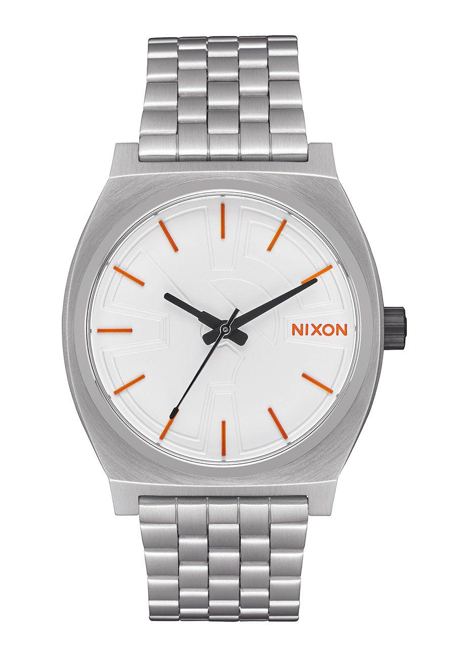 Nixon The Time Teller SW BB-8 Silver / Orange