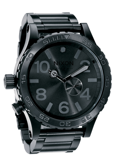 Nixon The 51-30 Tide All Black Herrenuhr
