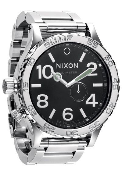 Nixon The 51-30 Tide High Polish/Black Uhr