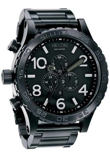 Nixon The 51-30 Chrono All Black Chronograph