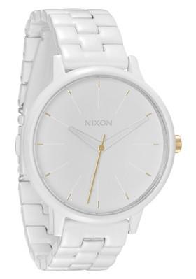 Nixon The Kensington All White/Gold Damenuhr