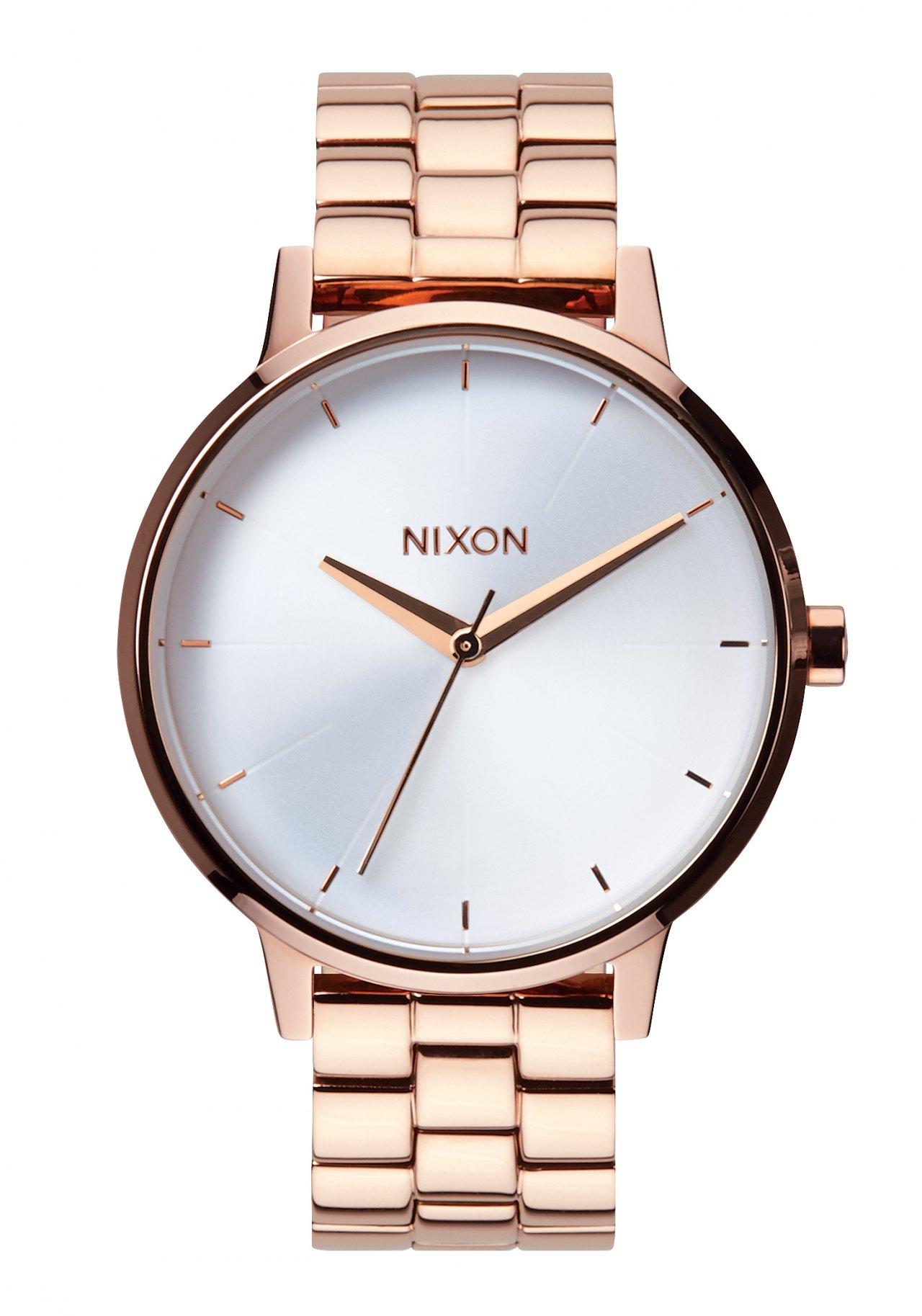 Nixon The Kensington Rose Gold / White