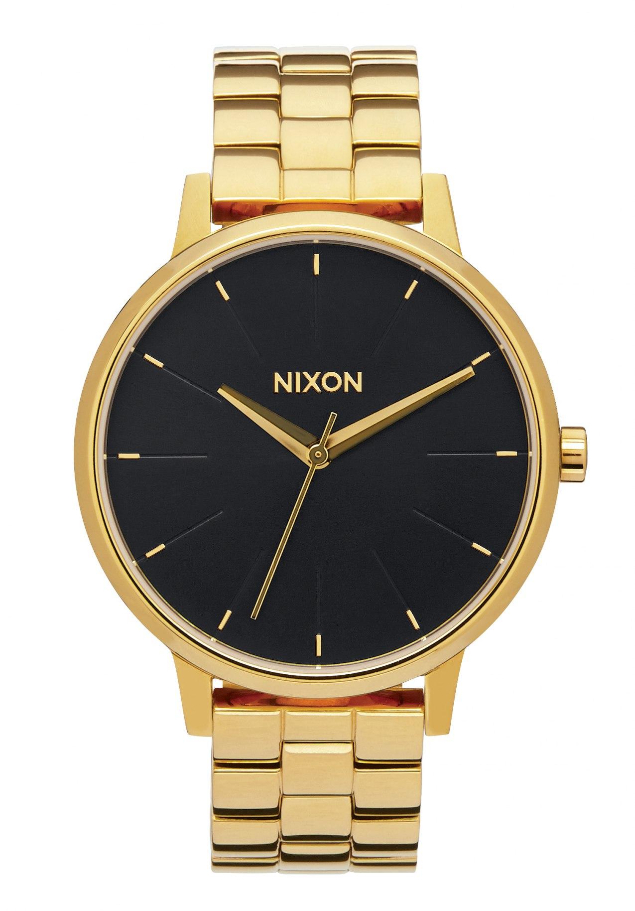 Nixon The Kensington All Gold / Black / Sunray