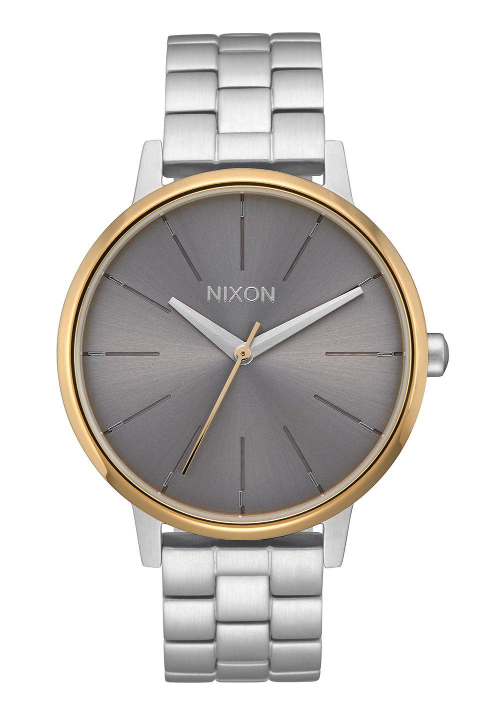 Nixon The Kensington Silver / Gold / Gray