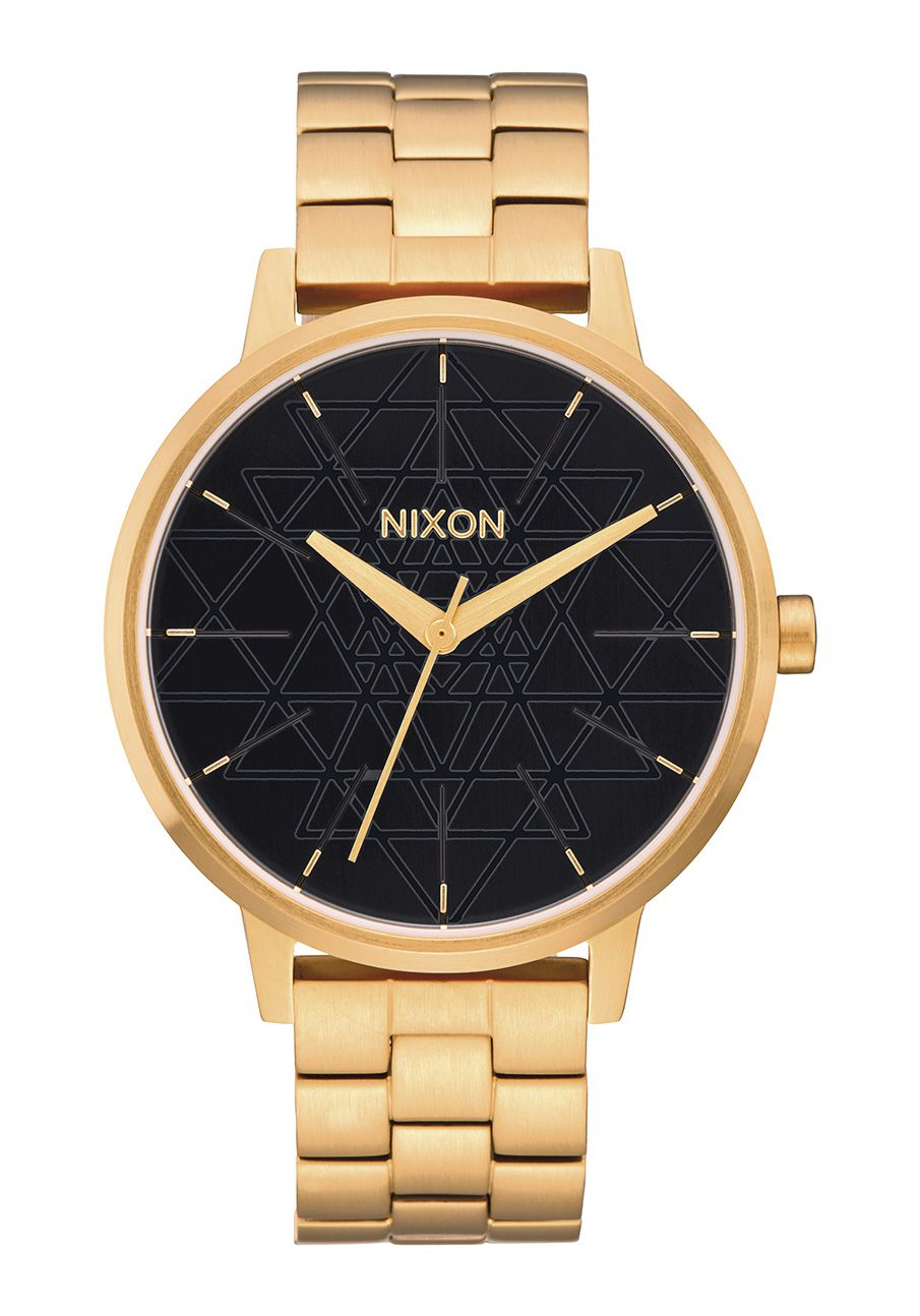 Nixon The Kensington Gold / Black / Stamped
