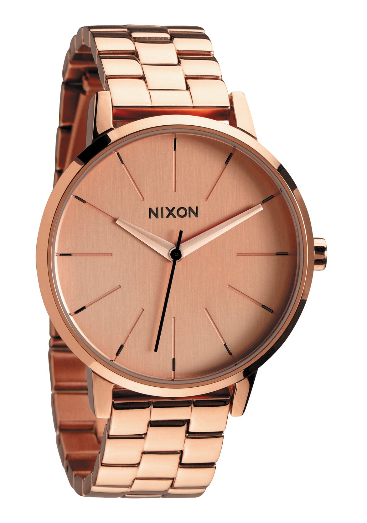 nixon the kensington all rose gold damenuhr a099897 nur 149 00. Black Bedroom Furniture Sets. Home Design Ideas