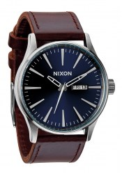 Nixon The Sentry Leather Blue / Brown (A1051524)