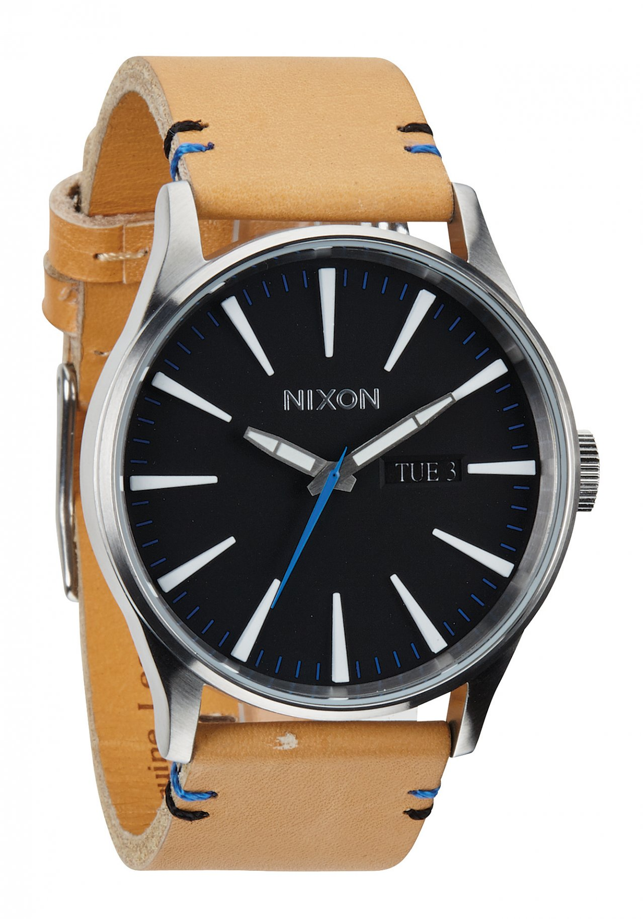 Nixon The Sentry Leather Natural / Black