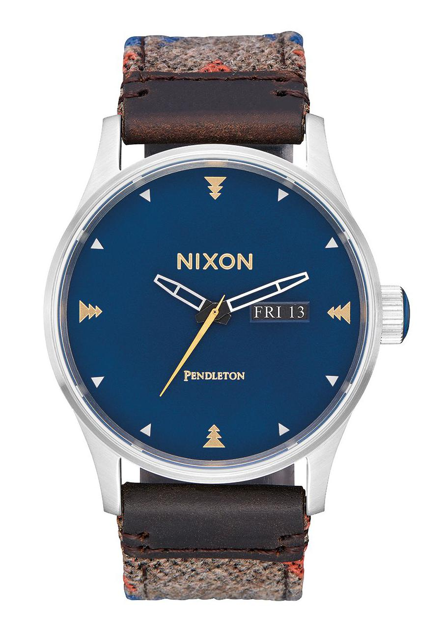 Nixon The Sentry Leather Washed Americana