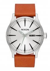 Nixon The Sentry Leather Silver / Tan (A1052853)