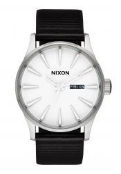 Nixon The Sentry Leather White / Silver / Black (A1052855)