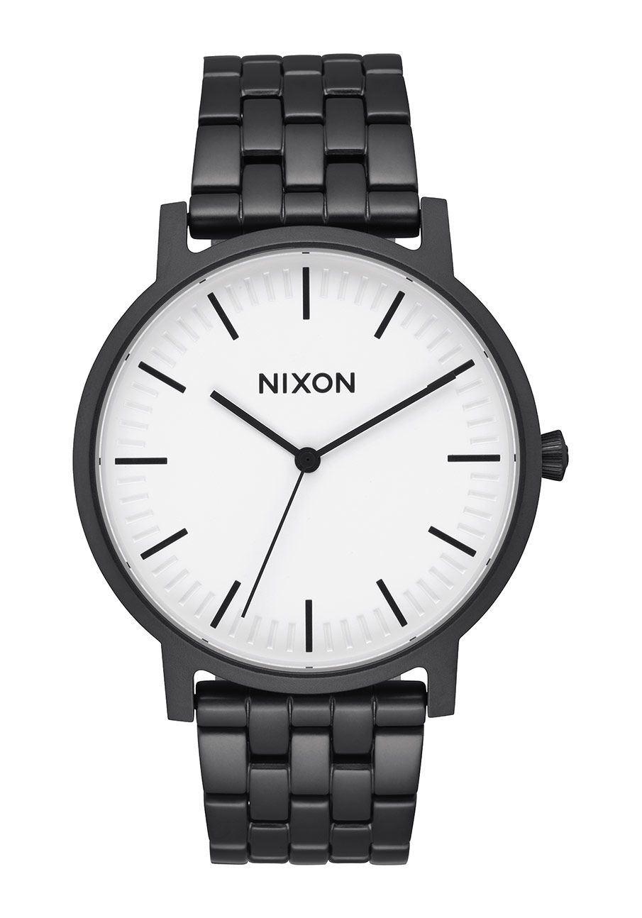 Nixon The Porter Matte Black / White