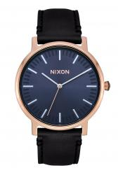 Nixon The Porter Leather Rose Gold / Storm (A1058-3005)
