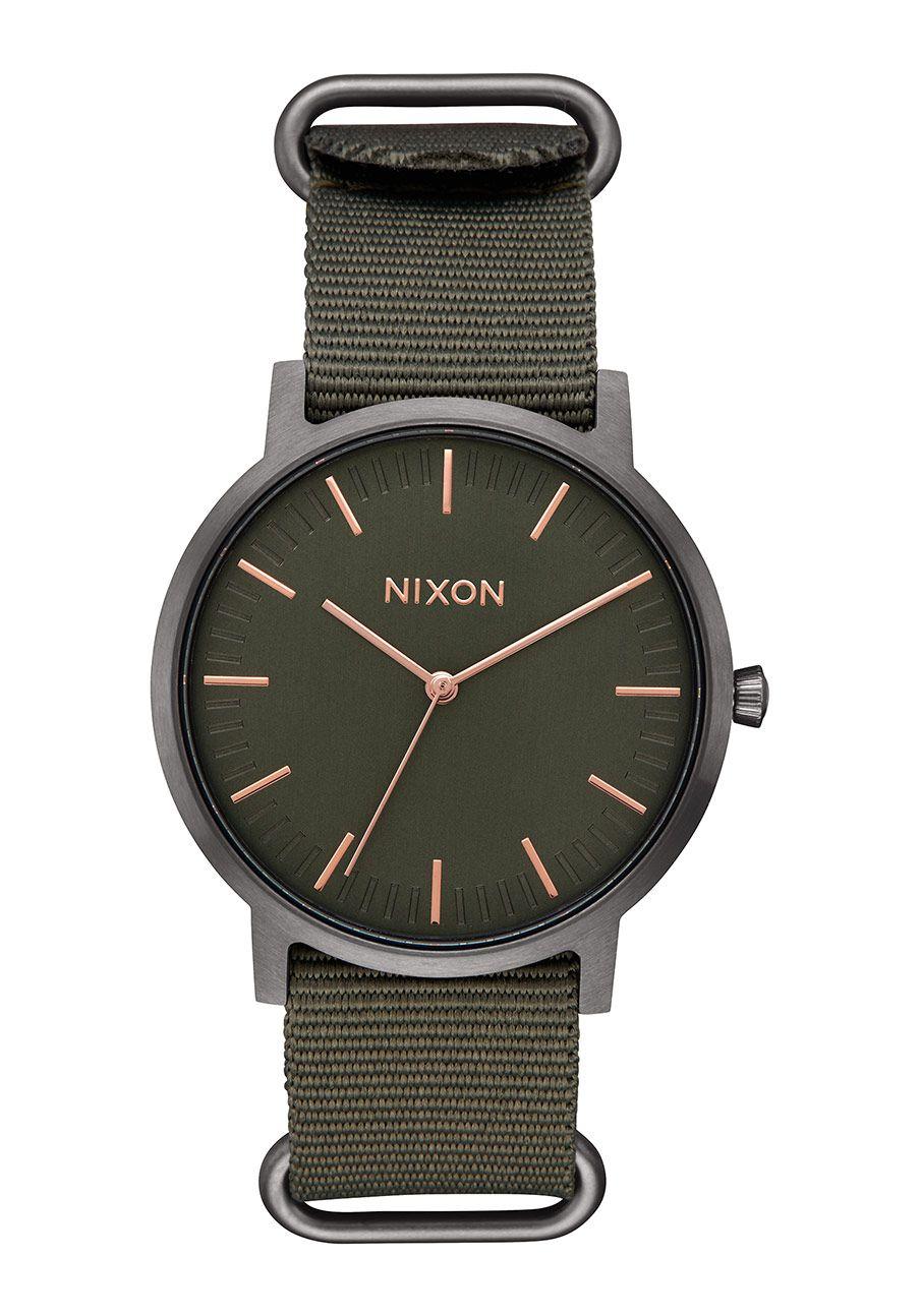 Nixon The Porter Nylon Rose Gold / Gunmetal / Surplus