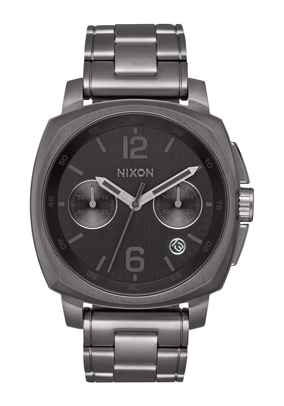 Nixon The Charger Chrono All Gunmetal