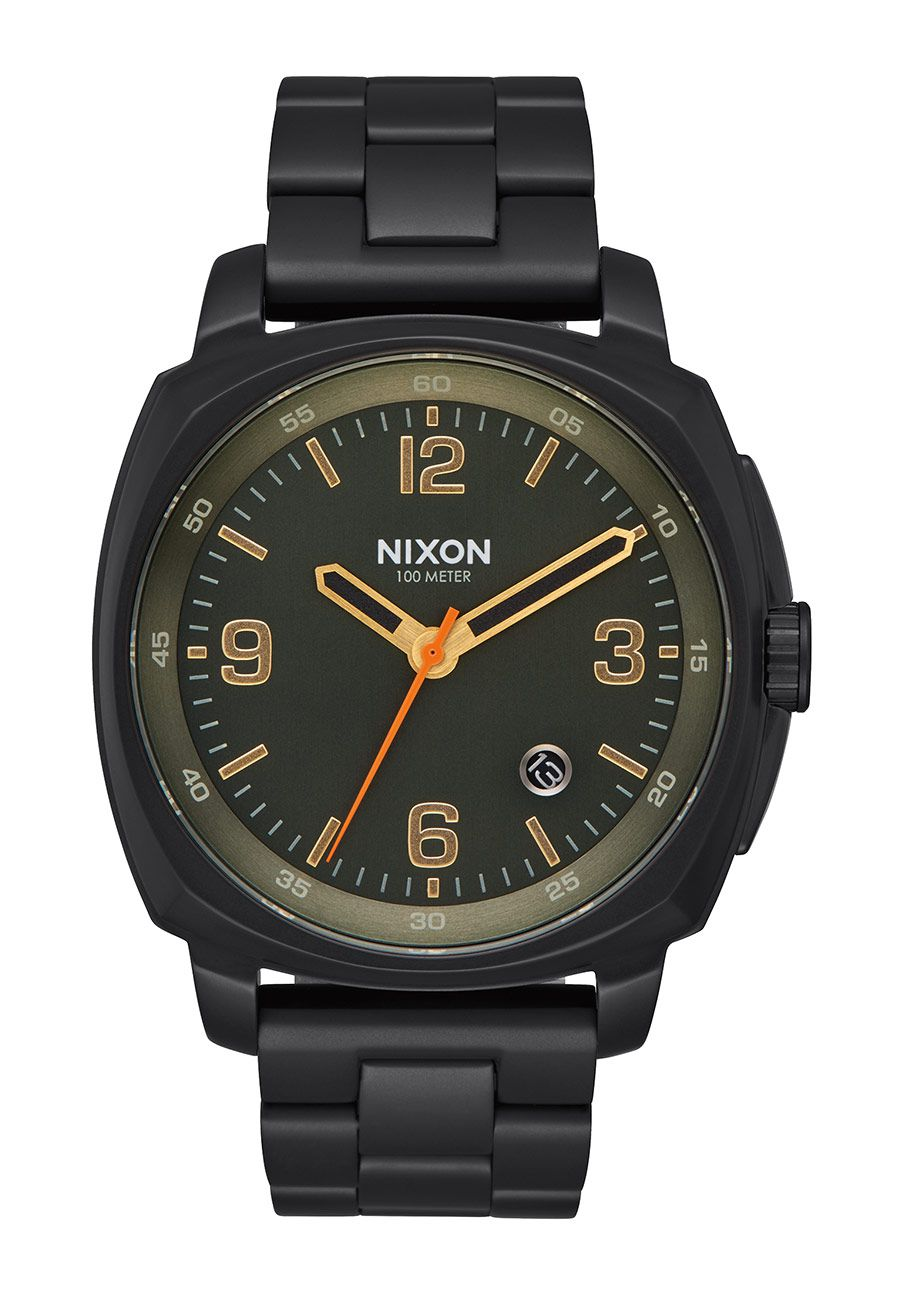 Nixon The Charger All Black / Surplus