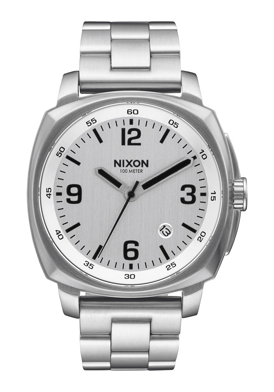 Nixon The Charger Silver