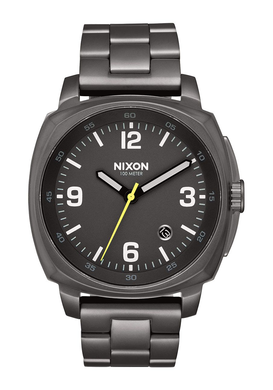 Nixon The Charger All Gunmetal
