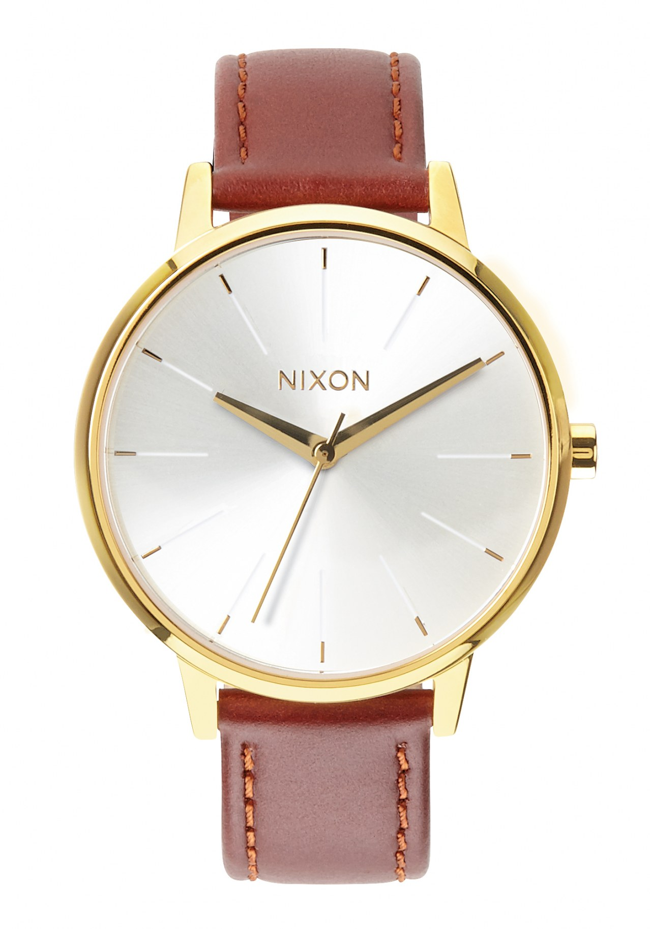 Nixon The Kensington Leather Gold / Saddle