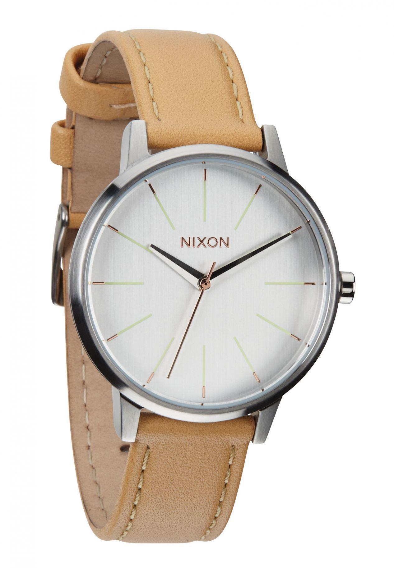 Nixon The Kensington Leather Natural / Silver