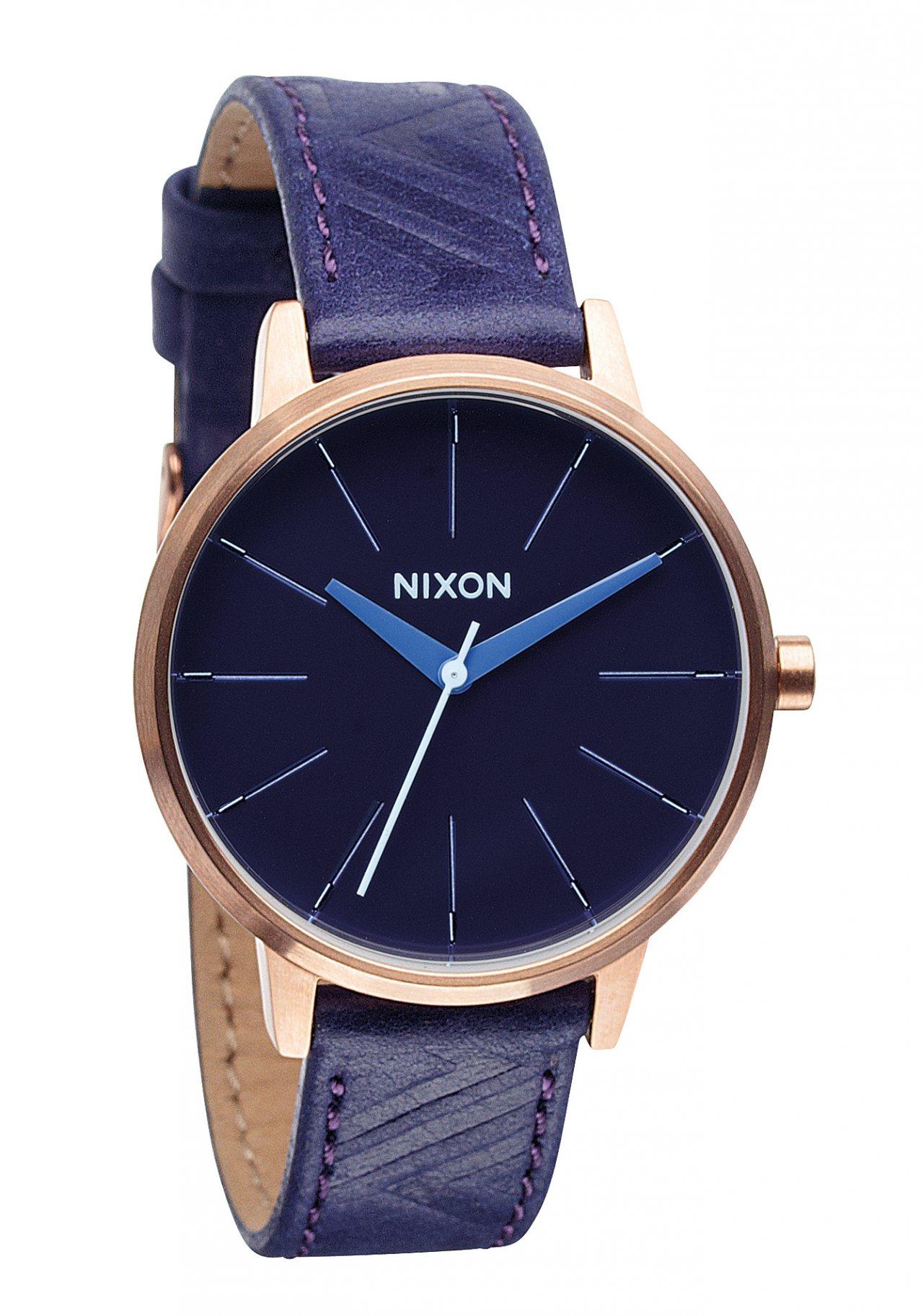 Nixon The Kensington Leather Cobalt / Mod